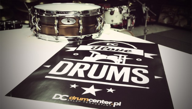 i love drums plakat
