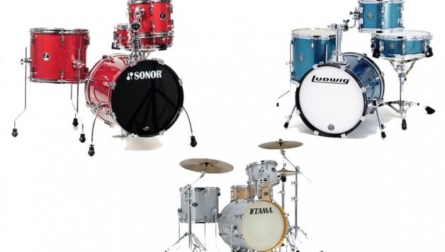Małe gigowe zestawy perkusyjne