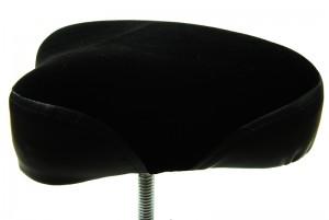 welurowe siedzisko w stołku DC Pure DT410